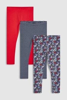 Poppy Leggings Three Pack (3-16yrs)