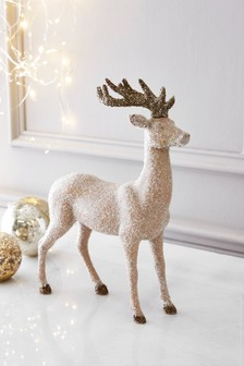 Glitter Encrusted Stag
