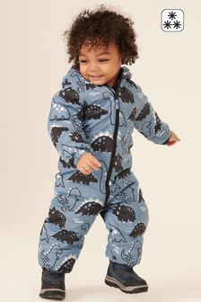Dino All Over Print Snowsuit (3mths-7yrs)