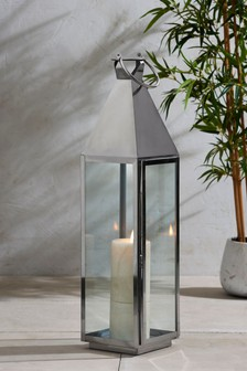XXL Chrome Lantern