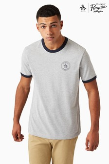 Original Penguin® Rain Heather Logo Tee