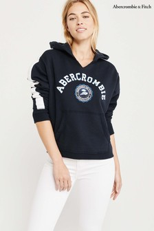 Abercrombie & Fitch Navy Hoody