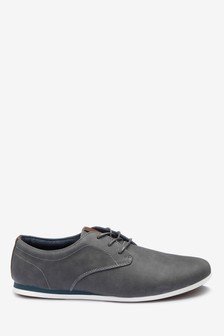 Derby Wedge Shoe