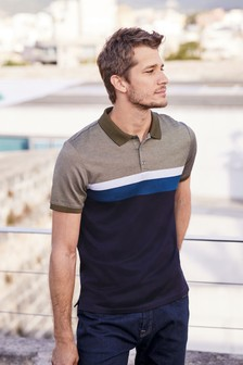 Premium Colourblock Polo