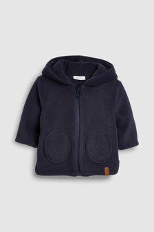 Fleece Hooded Jacket (0mths-2yrs)