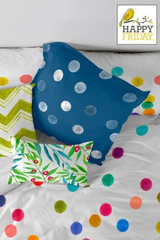 Happy Friday Confetti Cushion