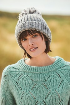 Tie Back Cable Sweater