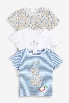 Bunny T-Shirts Three Pack (3mths-7yrs)