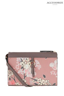 Accessorize Pink Charlie Cross Body Bag