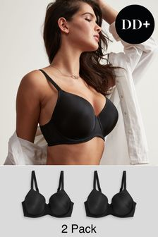 Holly DD+ Lightly Padded Full Cup Bras Two Pack
