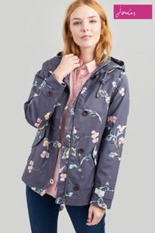 Joules Coast Printed Waterproof Jacket