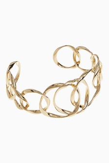 Abstract Metal Cuff