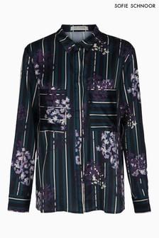 Sofie Schnoor Floral Stripe Long Sleeve Shirt