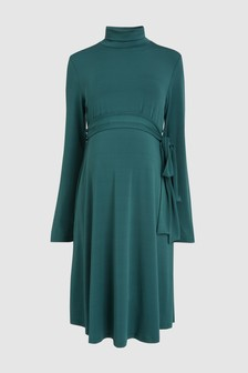 Maternity Belted Dress