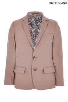 River Island Pink Suit Jacket