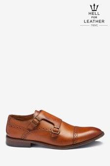 Toe Cap Monk Shoes