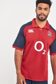 Canterbury England Away Rugby Jersey