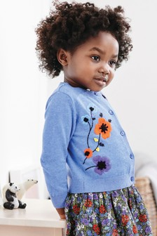 Embroidered Cardigan (3mths-7yrs)