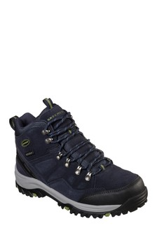Skechers® Navy Relment Pelmo Boot