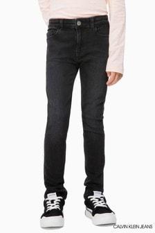 Calvin Klein Jeans Black Mid Rise Skinny Jean