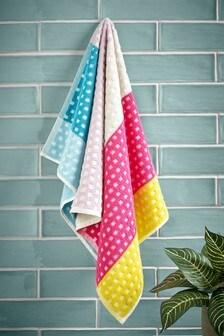 Blocked Stripe Towel