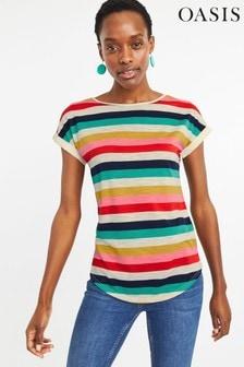 e76918f4d5dc topstshirts Tops Women White White Oasis Oasis | Next Australia