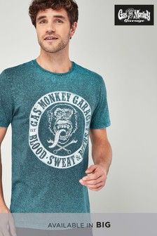 Gas Monkey Acid Wash T-Shirt