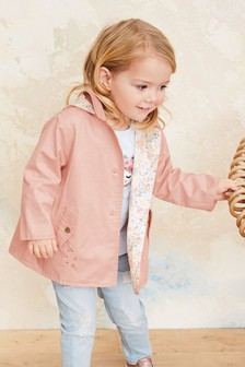 Floral Embroidered Cotton Jacket (3mths-7yrs)
