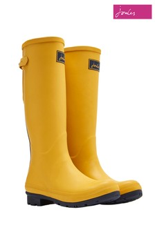 Joules Gold Adjustable Back Gusset Field Welly