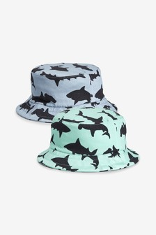 Shark Fisherman's Hat Two Pack (Younger)