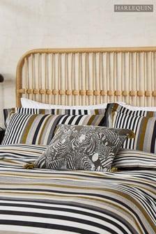 Harlequin Charcoal Rosita Pillowcase