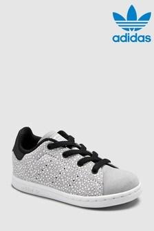adidas Originals Grey Spot Stan Smith Infant