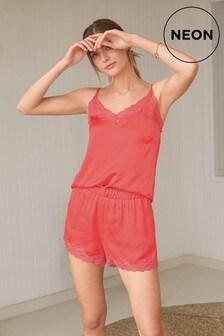 Lace Cami Short Set