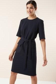Belted Pocket Dress