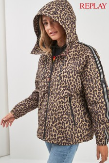 Replay® Leopard Print Jacket
