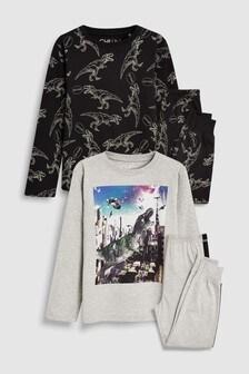 Dinosaur Pyjamas Two Pack (3-16yrs)
