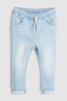 Jersey Denim Pull-On Jeans (3mths-7yrs)