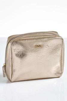 Gold Make Up Bag