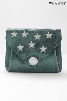 White Stuff Teal Star Kate Purse