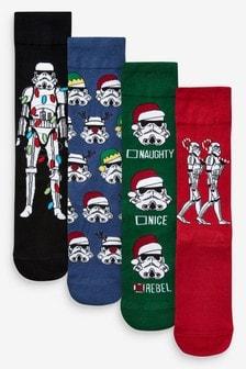 Stormtrooper Socks Four Pack