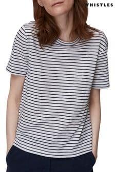 Whistles Stripe Short Sleeve T-Shirt