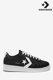 Converse Black Proleath Ox Trainers