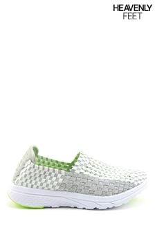 Heavenly Feet White Ladies Ath-Leisure Shoes