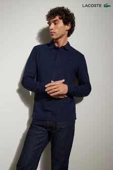 Lacoste® Paris Long Sleeve Polo