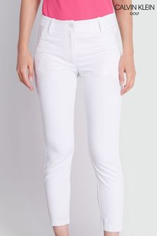 Calvin Klein Golf White Arkose Capri Trousers