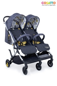 Cosatto Woosh Double Pushchair Fika Forest