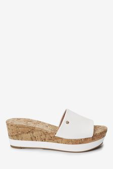 Forever Comfort® Mule Wedges