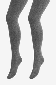 21b8b7d3200 Knitted Tights Two Pack