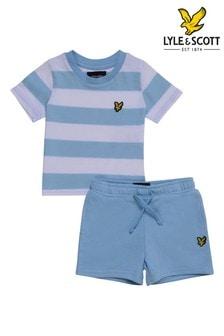 Lyle & Scott Boys Classic Stripe T-Shirt & Short Set