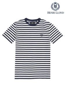Henri Lloyd Grey Even Stripe T-Shirt
